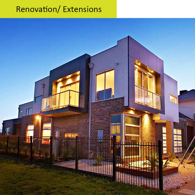 Renovation---Extensions
